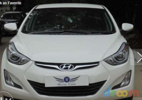 Hyundai Elantra 1.8 SX AT 2015