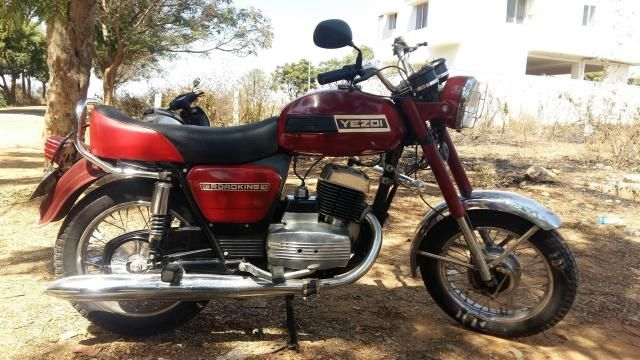 Ideal Jawa Yezdi Roadking Electronic 250 1996