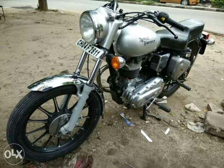 Royal Enfield Bullet Bike for Sale in Chandigarh- (Id: 1415726394) - Droom