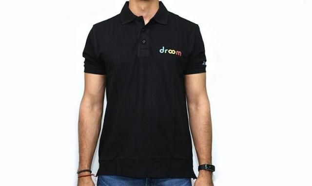 Droom T-Shirt with Collar – Size – XL