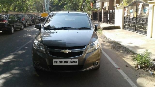 Chevrolet Sail Hatchback LT ABS 1.3 2013