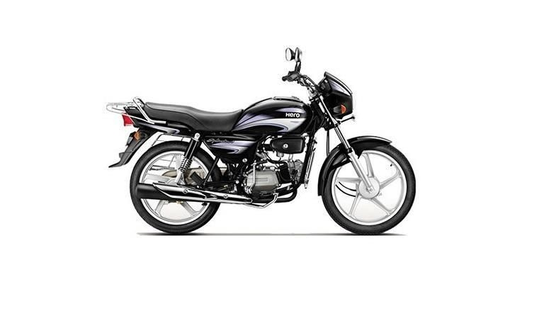 Hero Splendor Plus Kick Spoke 100cc 2019