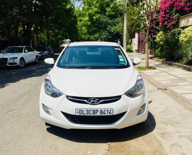 Hyundai Elantra 1.6 SX (O) AT 2013