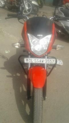 Hero Splendor ISmart Self Drum Alloy 2016