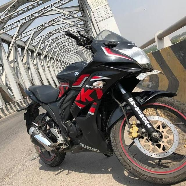 Suzuki Gixxer SF 150cc SP Rear Disc 2017