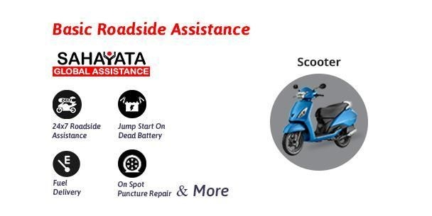 Road Side Assistance - Basic - Two Wheeler - Sahayata Global Assistance