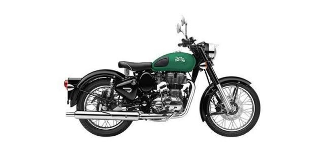 Royal Enfield Classic 350cc-Redditch Edition Dual Disc 2019