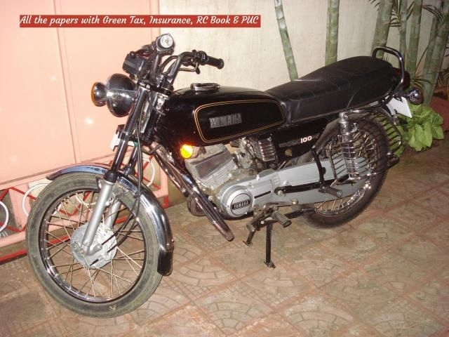 Used Yamaha Rx 100 Motorcycle Bikes 46 Second Hand Rx 100