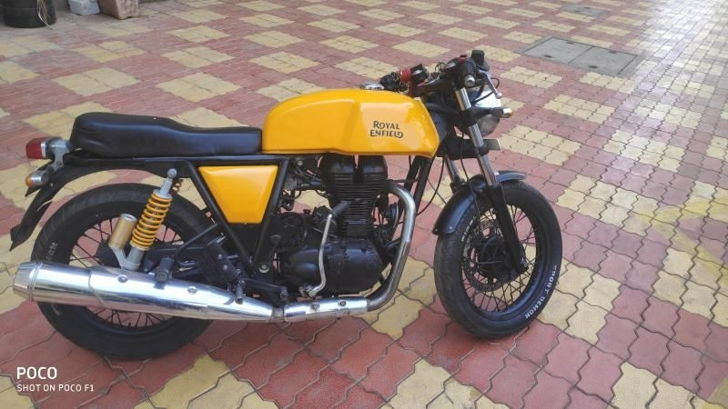 Royal Enfield Continental Gt Bike For Sale In Mumbai Id