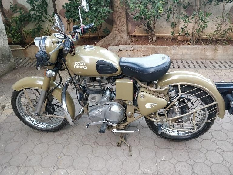 royal enfield classic desert storm bike for sale in mumbai id 1417514065 droom. Black Bedroom Furniture Sets. Home Design Ideas