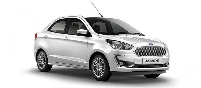 Ford Aspire Titanium 1.5 Ti-VCT AT 2018