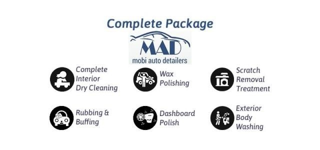 Complete(Interior and Exterior) Car Care Detailing - Mobi Auto Detailers