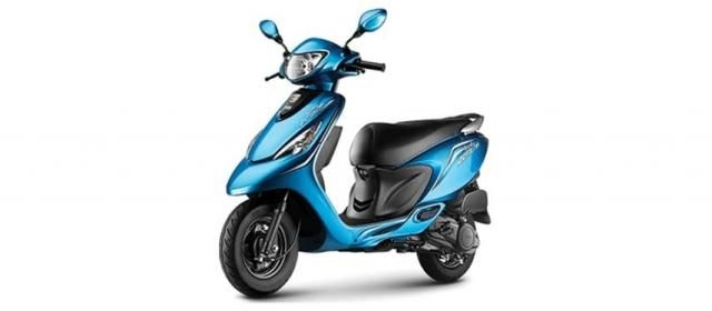TVS Scooty Zest 110 HIMALAYAN HIGHS SERIES 2019