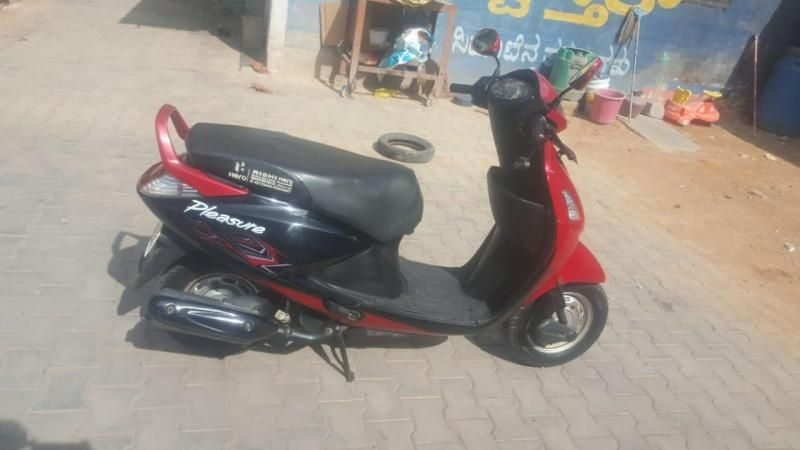 Hero Pleasure Scooter for Sale in Bangalore- (Id: 1417883462) - Droom