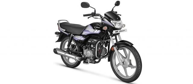Hero HF Deluxe IBS Self Black Alloy 100cc BS6 2020